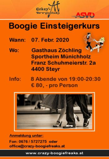 Boogie Einsteigerkurs @ Gasthaus Zöchling