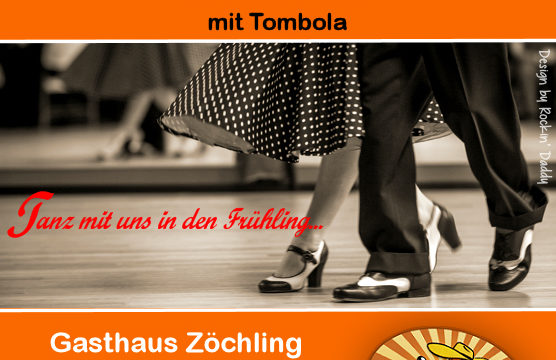 Boogieparty Gasthaus Zöchling mit Tombola und DJ Rockin Daddy